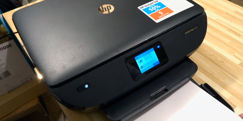 HP Envy Photo 7155 All-in-One Photo Printer with Wireless Printing in the use