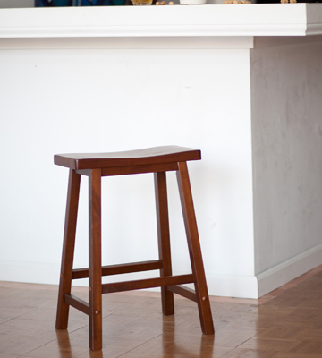 Review of Winsome Wood Saddle Seat Stool
