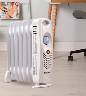 Review of Costway 22917-CYPE Oil Filled Portable Radiator Heater