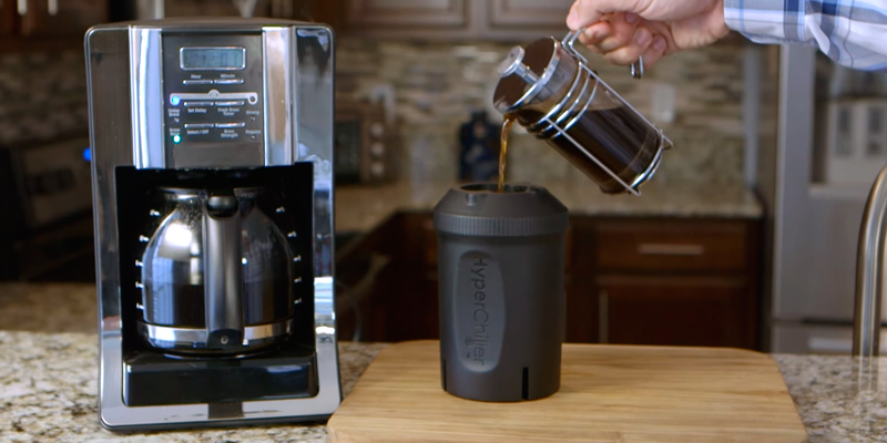 HyperChiller HC1 Iced Coffee Maker in the use