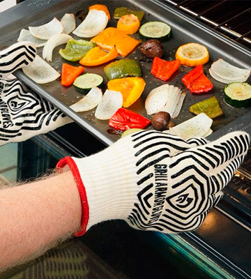 Review of Grill Armor Gloves EN407 Extreme Heat Resistant Oven Gloves