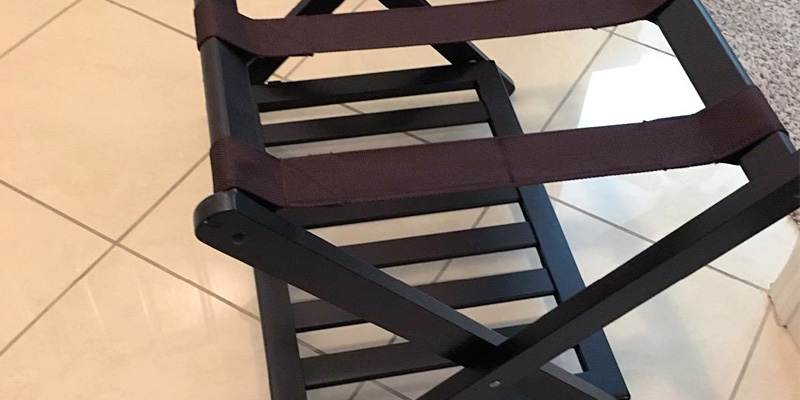 Review of Winsome 92436 Wood Reese Luggage Rack with Shelf