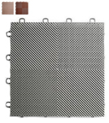 BlockTile B2US4630 Deck and Patio Flooring Interlocking Tiles Perforated Pack (30-Pack)