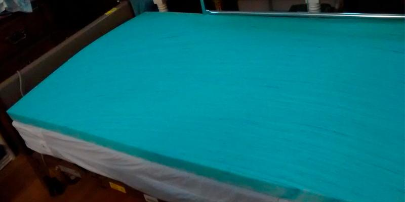 "Review of Memory Foam Solutions 2"" Gel Mattress Topper"
