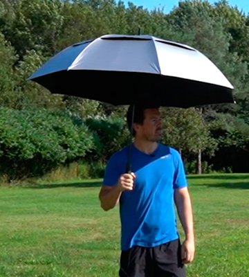 Review of G4Free Golf Windproof Sun Rain Umbrella