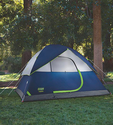Review of Coleman Sundоme Leak Proof Tent