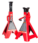 Torin T46002 Big Red Steel Jack Stands: 6 Ton Capacity, 1 Pair