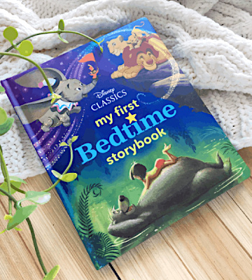 Review of Disney Book Group Hardcover My First Disney Classics Bedtime Storybook