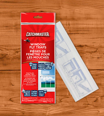 Review of Catchmaster [12 Pack] Clear Window Fly Traps