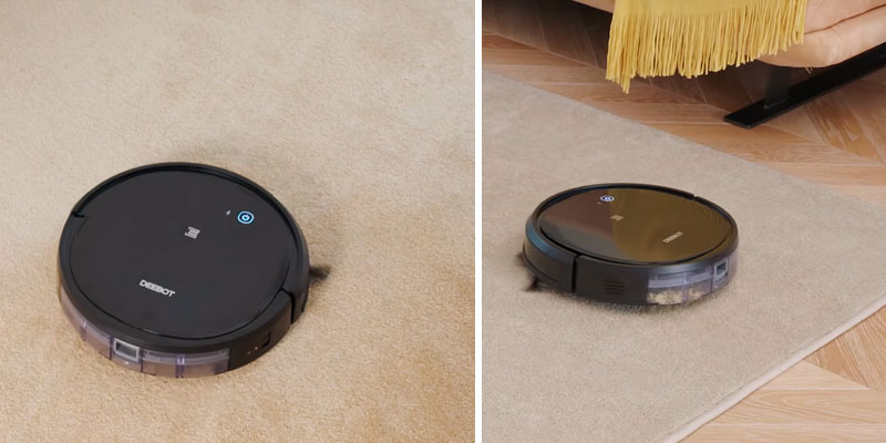Ecovacs DEEBOT 500 Robotic Vacuum Cleaner in the use