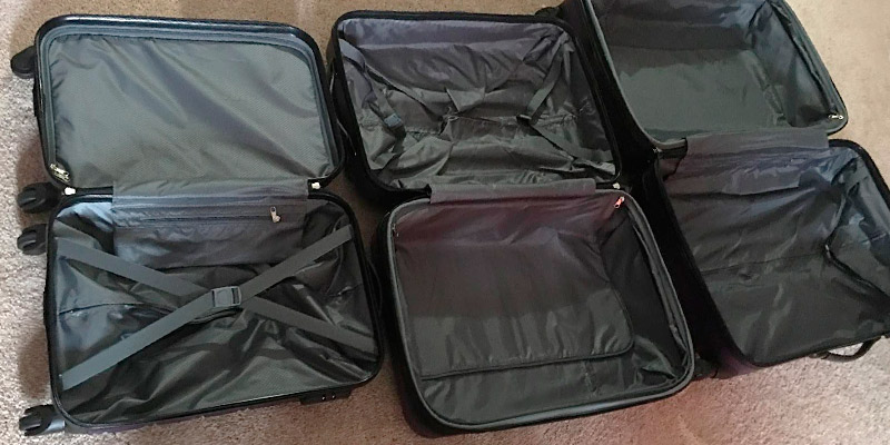 Review of Merax Travelhouse Luggage Set