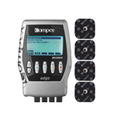 Compex Edge Electronic Muscle Stimulator Kit