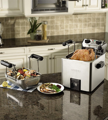 Review of Waring Pro TF200B Rotisserie Turkey Fryer