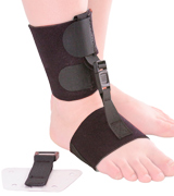BraceAbility Soft AFO Foot Drop Brace
