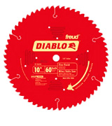 Freud D1060X Diablo ATB Fine Finish Saw Blade