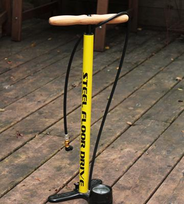 Review of Lezyne Steel Floor Drive Pump