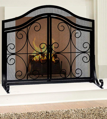 Review of Amagabeli Garden & Home BL0009 Fireplace Screen with Doors