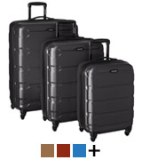 Samsonite Omni PC 3 Piece Set Spinner Suitcase