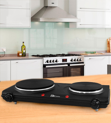 Review of Elite Cuisine Electric Double Cast Burner Hot Plate
