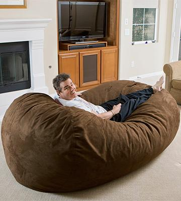 Review of Cozy Sack X-Large 8-Feet Bean Bag Chair