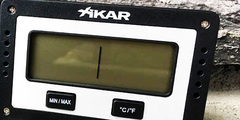 Detailed review of Xikar Rectangular Digital Hygrometer