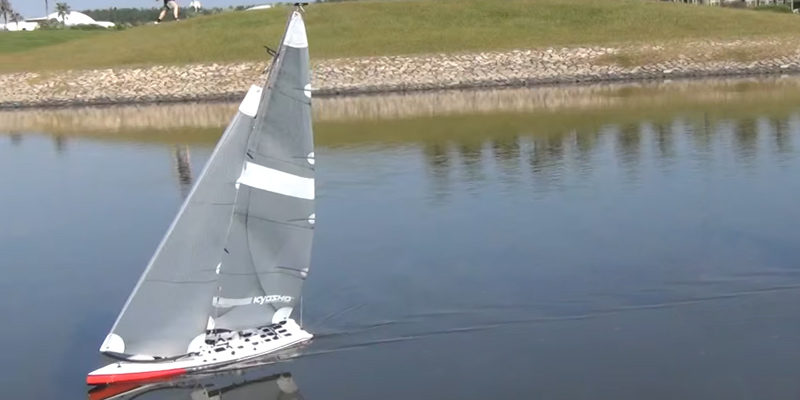Review of Kyosho Fortune 612-III Sailboat RC