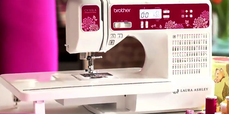 Review of Brother CX155LA Computerized Sewing