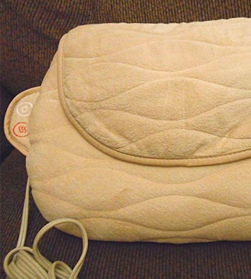 Review of HoMedics SP-25H Shiatsu Plus Vibration & Massage Pillow