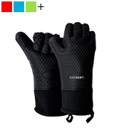 GEEKHOM Silicone Grilling Gloves