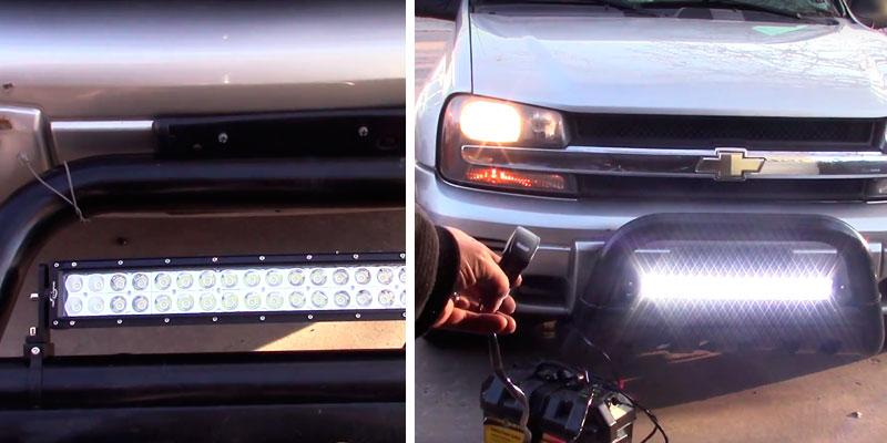 "Review of Mictuning 22"" Light Bar"