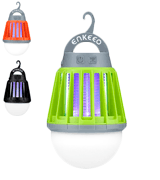 ENKEEO 213434001 2-in-1 Mosquito Killer and Camping Lantern