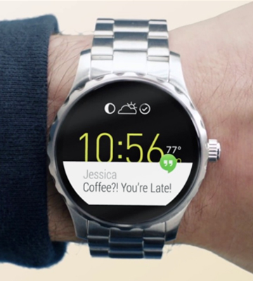 Review of Fossil Q Marshal Gen 2 (FTW2108) Smoke Stainless Steel Touchscreen Smartwatch