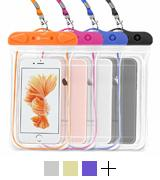 F-color Transparent Waterproof Case