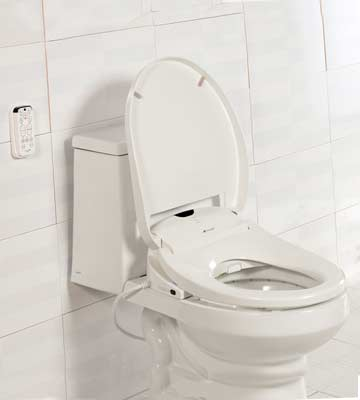 Review of Brondell Swash 1000 S1000-EB Advanced Bidet Elongated Toilet Seat