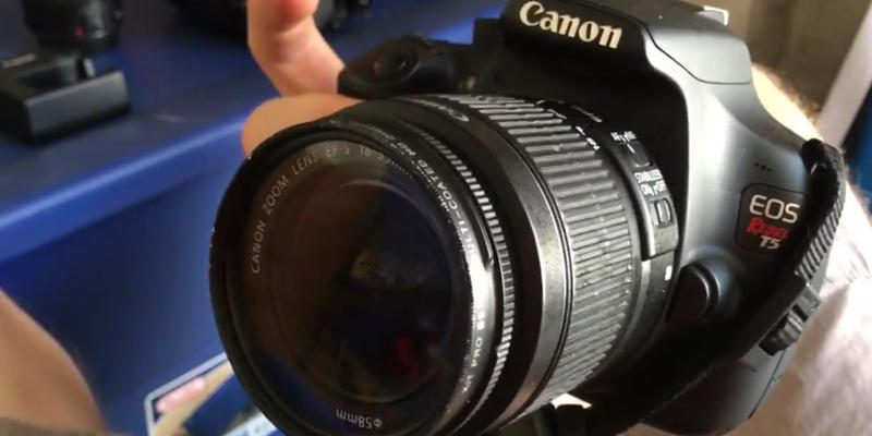 Canon EOS Rebel T5 Digital SLR Camera in the use