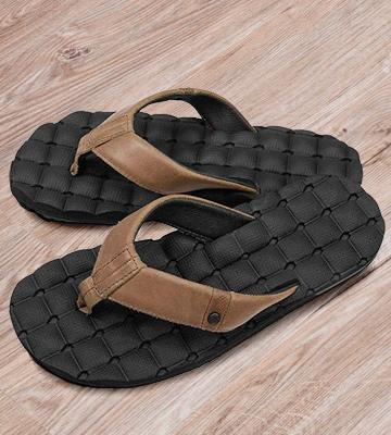 Review of Volcom Recliner Leather Sandal