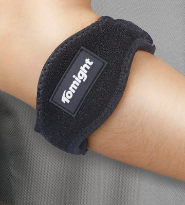 Review of Tomight Tennis Elbow Brace with Compression Pad