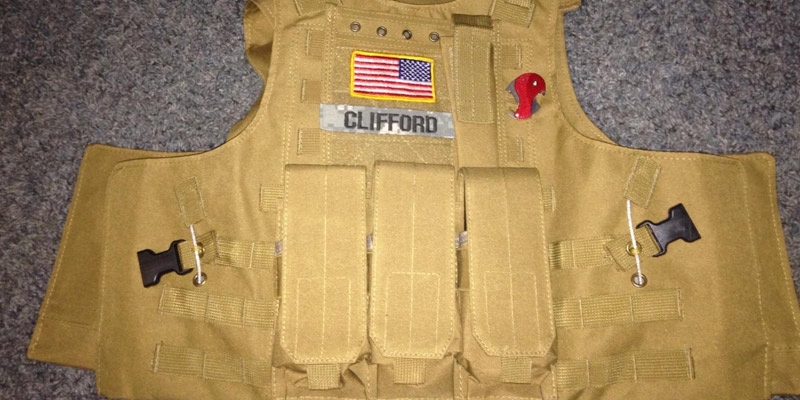Dock Tactical Molle Airsoft Vest in the use