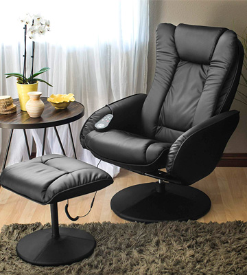 Review of Best Choice Products SKY2891 PU Leather Massage Recliner Ottoman , 5 Heat & Massage Modes