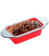 Boxiki Kitchen Gourmet Non-Stick Silicone Meatloaf and Bread Pan