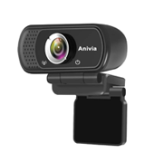Anviva W5 1080P Webcam with Microphone