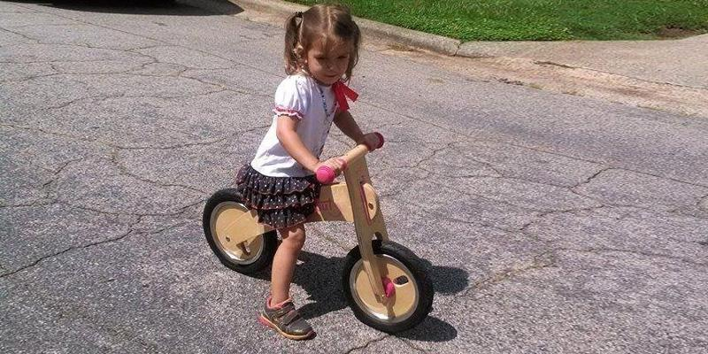 Review of Diggin Wooden Balance Bike