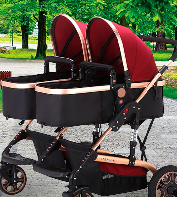 Review of TZ Twin Lightweight Stroller Double Baby Pram
