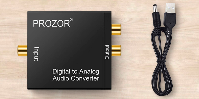 Review of PROZOR DAC001 Digital to Analog Converter