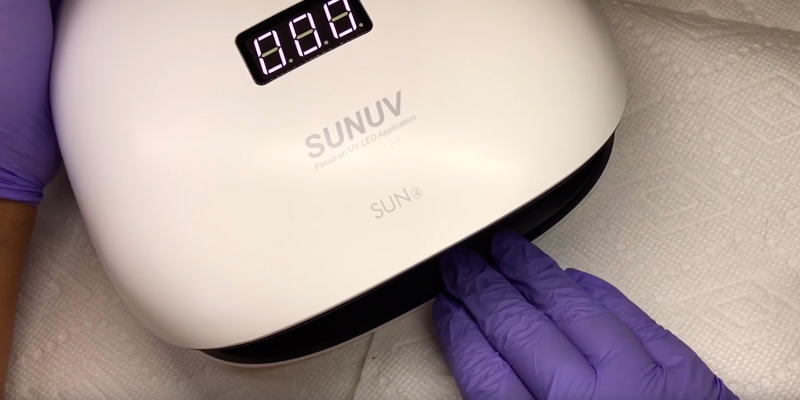 Review of SUNUV SUN4 UV LED Nail Dryer