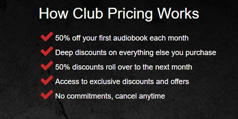 Review of AudiobooksNow Audiobooks